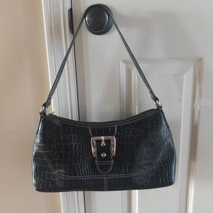 NWOT Liz & Co black patent purse